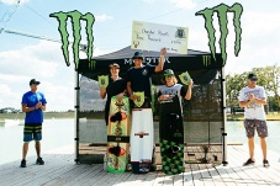 Yonel Cohen shreds at the Monster Energy Wake Park Triple Crown