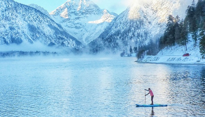 A winter SUP trip: the best SUP destinations