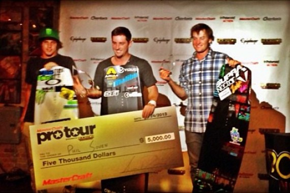 Austin Hair 3rd Overall @ Pro Wakeboard Tour!