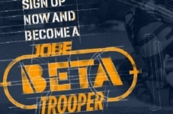 Become a Jobe Beta trooper and exclusively test new products!