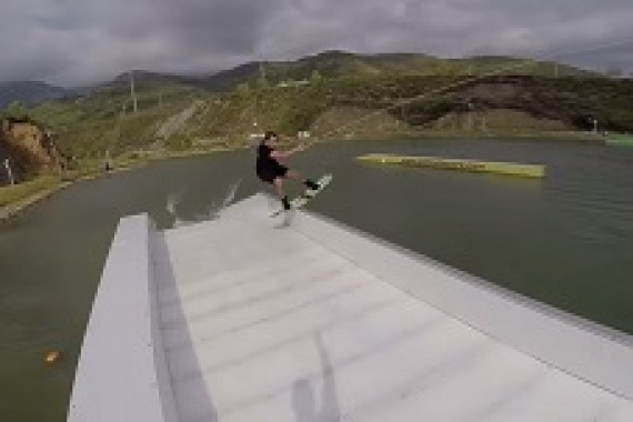 Declan Clifford rocks it at the Gold cable park