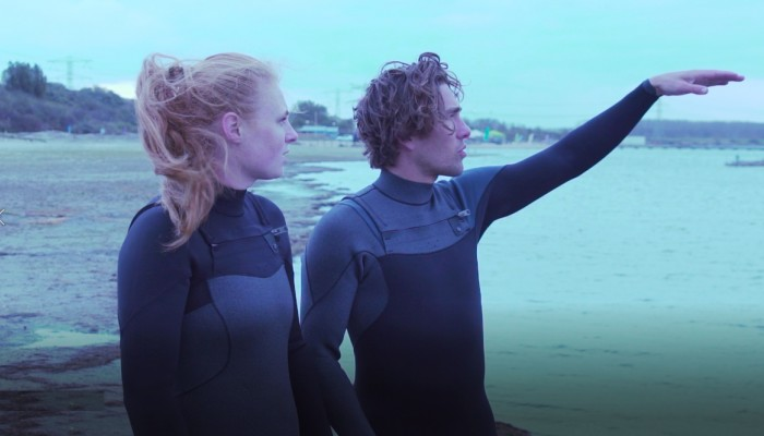 Development phase 2: Testing the thermo wetsuits