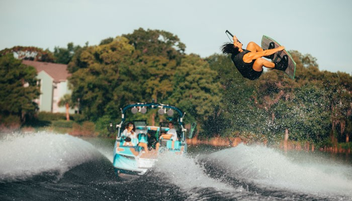 Find the right speed for wakeboarding