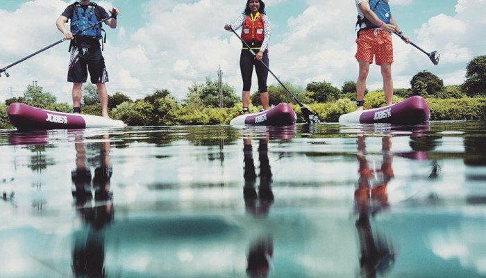 GangesSUP touring the world's rivers on Jobe SUP