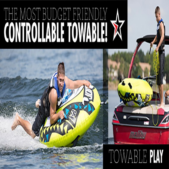 Get ready for the Jobe play towable!