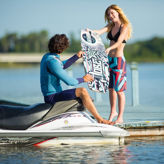 Get wild with the Jobe Savage Wakeskate!