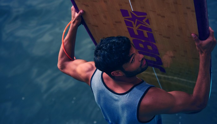 How we construct our lightweight bamboo SUP's