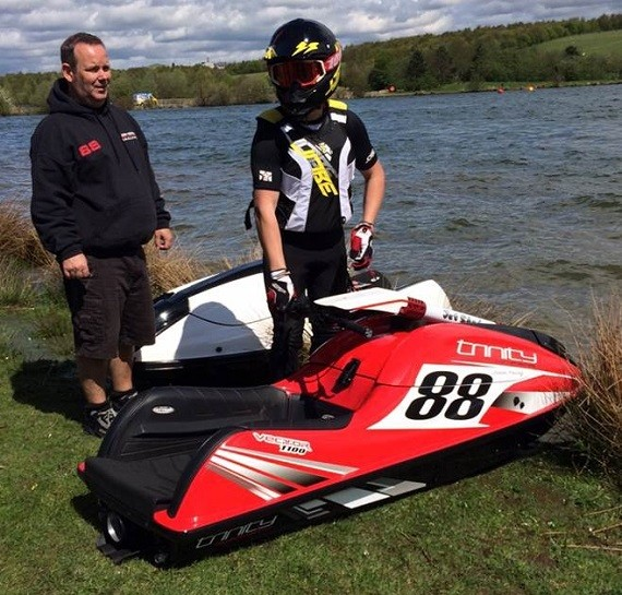 Jason Young at the British Jetski Championship!