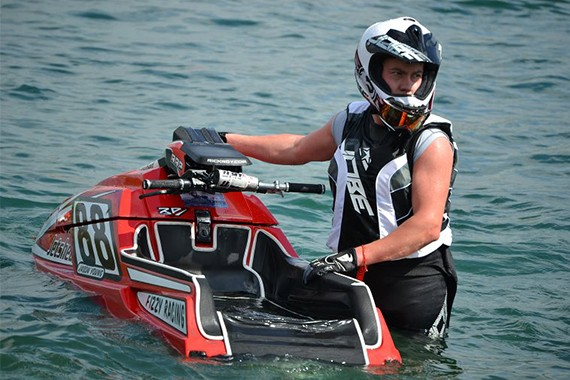 Jason Young took 2nd place at the British Jetski Championship