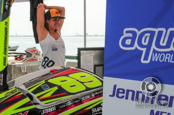 Jennifer Ménard's first round of the 2015 season