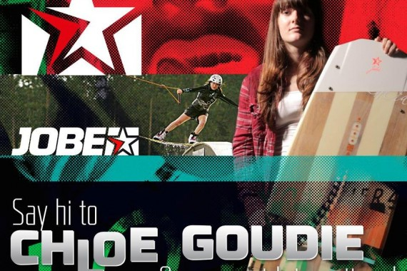 Jobe added Chloe Goudie to the international wakeboard team