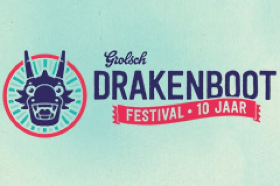 Jobe at the Grolsch Drakenbootfestival 2014!