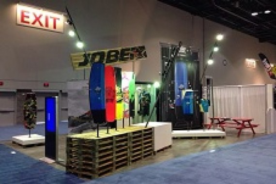 Jobe leaves a lasting impression at Surf Expo 2014
