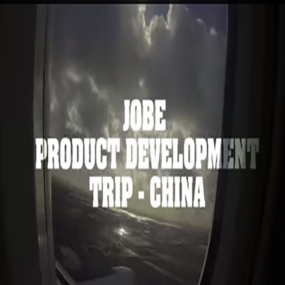 Jobe Product Development Trip to China