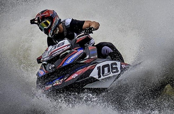 Jobe PWC racer Brad Rickaby is unstoppable!