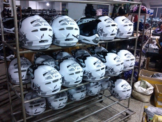 Jobe Ruthless Helmets ready to ship!