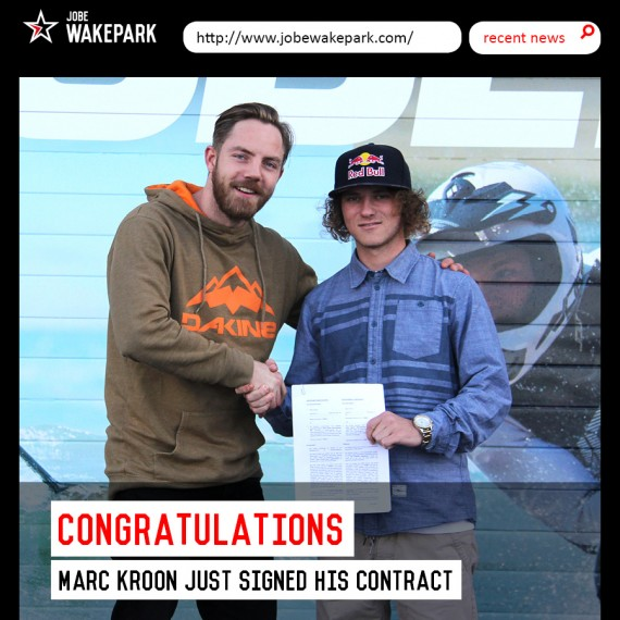 Jobe signs Marc Kroon!