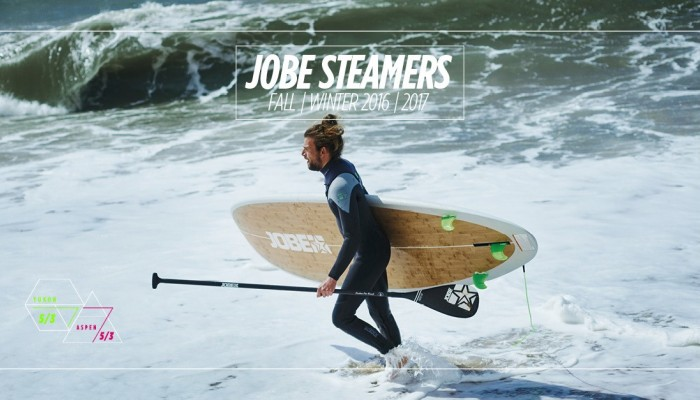 Jobe Steamer wetsuits Fall/Winter '16/'17.