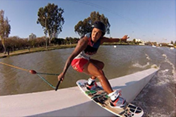 Jobe wakeboarder Maxine Sapulette made her first video edit ever!