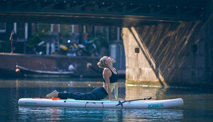 Learn all about the new Aero Yoga SUP