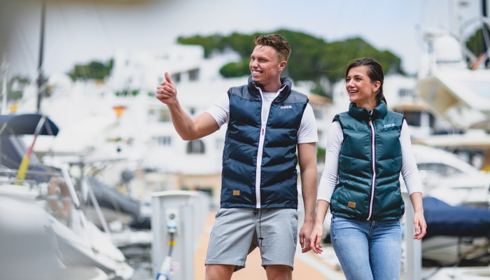 Meet the Newton bodywarmer