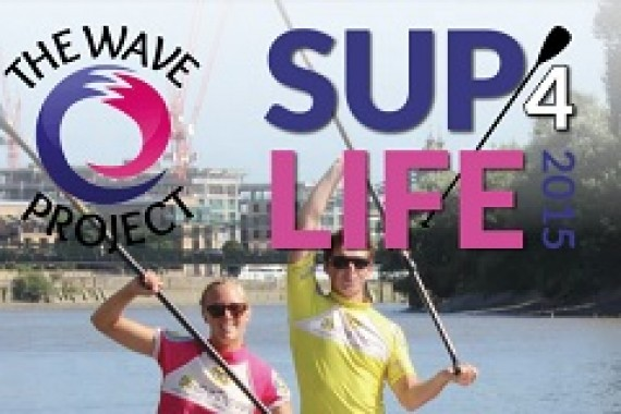 Paddle for charity with SUP4LIFE