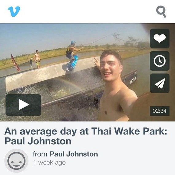 Paul Johnston's kicking it in Thailand!