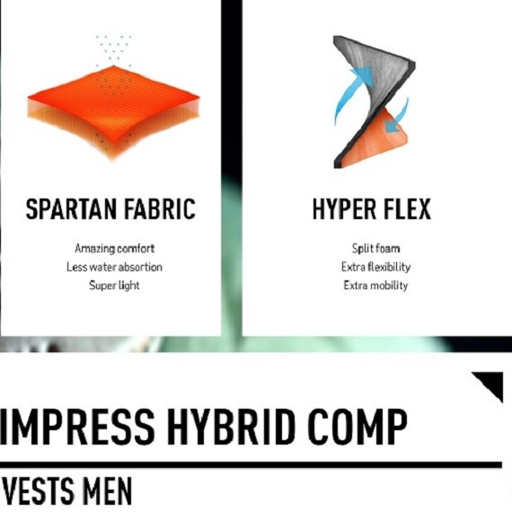 Product highlight: Impress Hybrid Comp vest