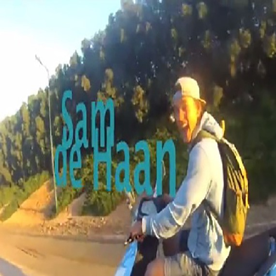 Sam de Haan in Egypt