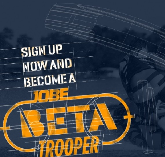 Sign up and become a Jobe Béta Trooper!