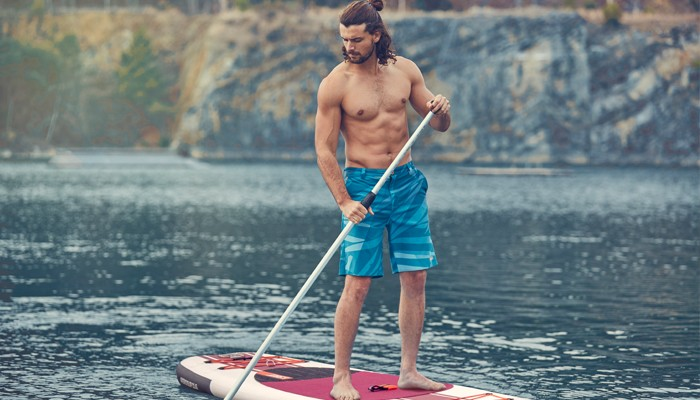 Strengthen your core with SUP!
