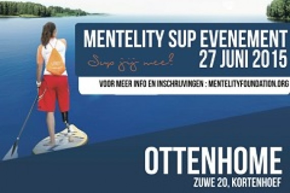 SUP for charity with the mentality foundation