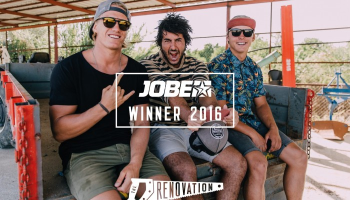 WINNERS OF THE RENOVATION: Team Jobe