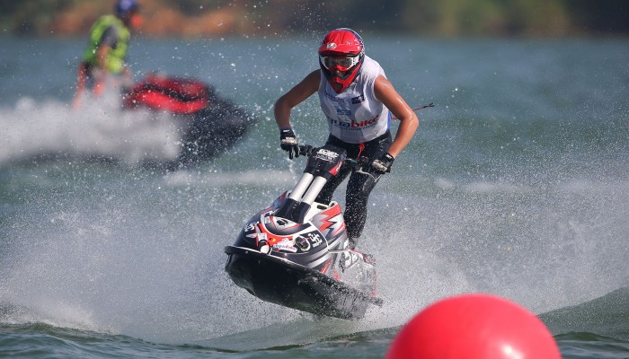 The Aquabike world championship in Liuzhou