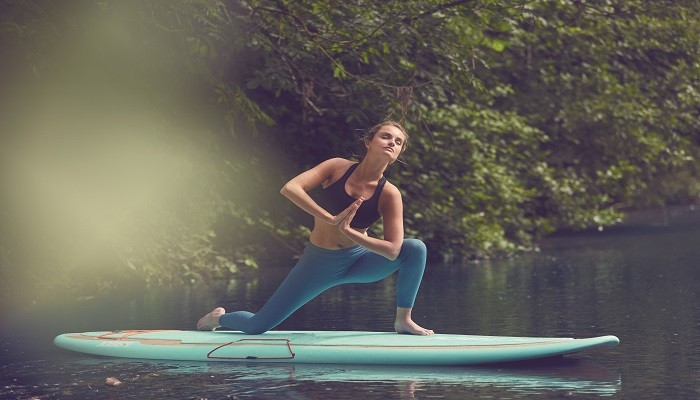 The Jobe Bamboo Yoga SUP