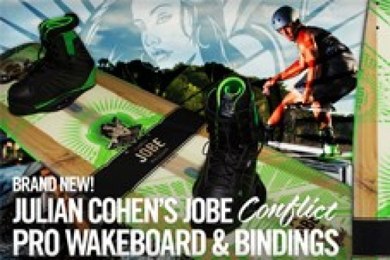 The Jobe Conflict Flex series: a new Jobe pro model by Julian Cohen!