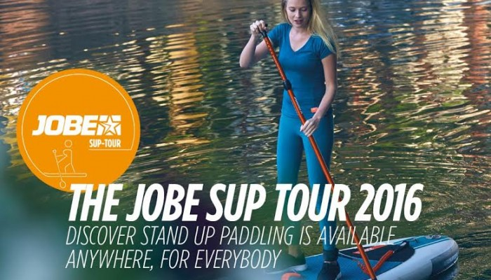 The JOBE SUP TOUR 2016