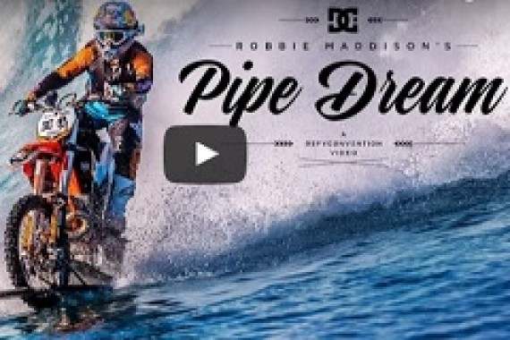 The pipedream by Robbie Maddison