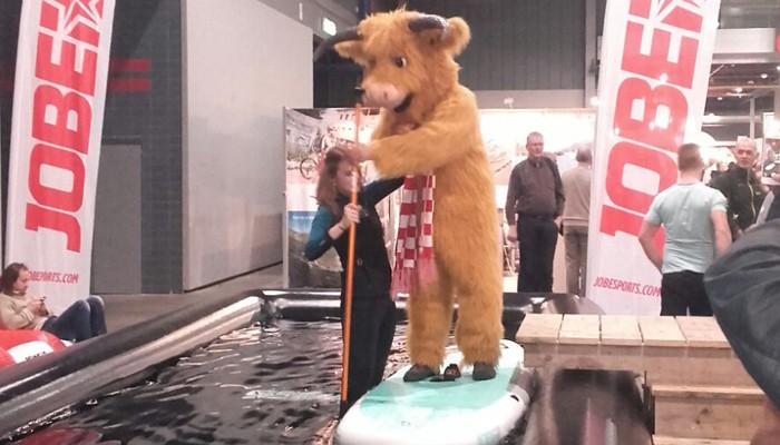 The Vakantiebeurs loved Jobe SUP