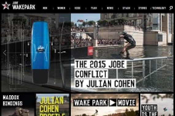 Total make over Jobe Wake Park website