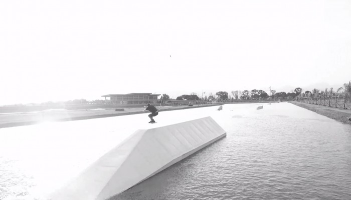 Wakepark shreds with Dreiling, de Haan and Cohen