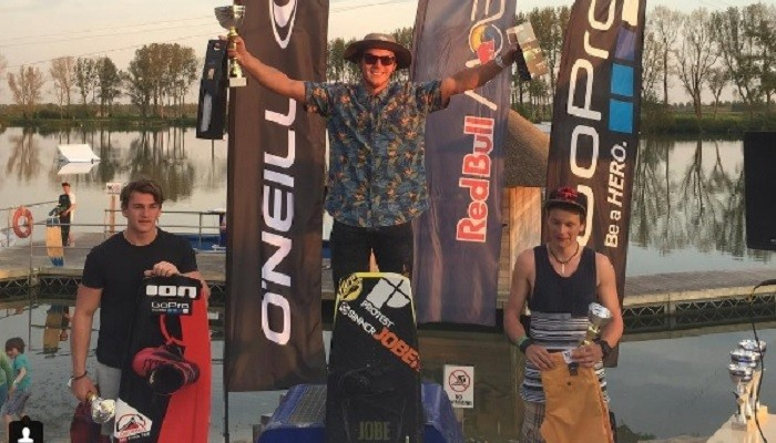 Weekend wakeboarding results