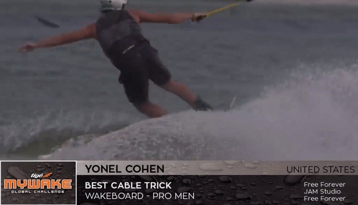 Yonel Cohen's entry best cable trick