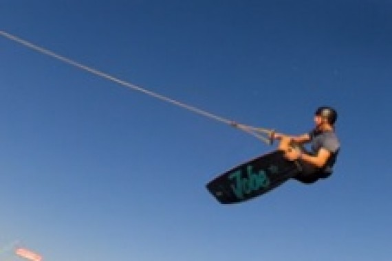Yonel Cohen writes wakeboarding history!
