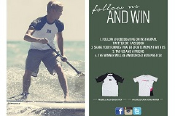 You've got the chance to win a pair of Jobe Rashguards!