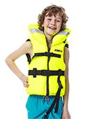 Jobe Comfort Boating Life Vest Kids Yellow