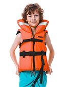 Jobe Comfort Boating Life Vest Kids Orange
