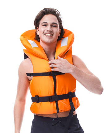 Jobe Gilet De Sauvetage Comfort Boating Orange