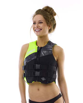 Jobe Neoprene Vest Women Lime Green