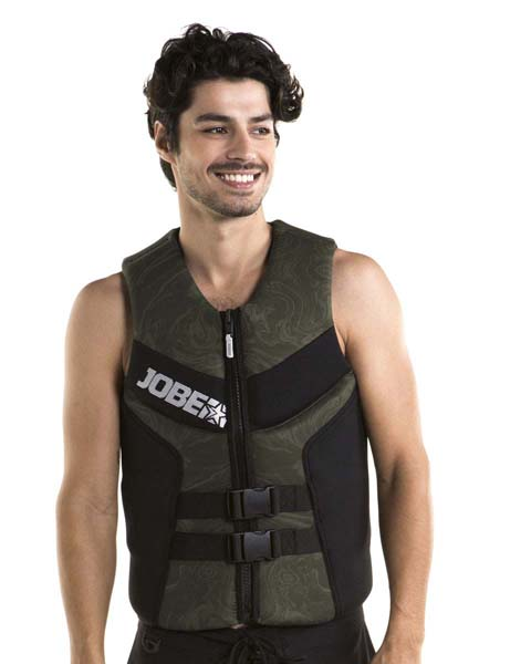 Jobe Segmented Vest Men Army Green